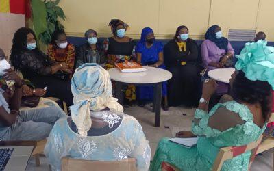 Instalación de la comunidad autofinanciada de las mujeres senegalesas de Terrassa