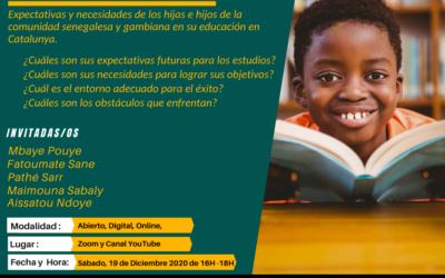 Expectativas y necesidades de los hijos senegambianos en su educación en Catalunya