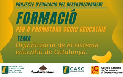 Formació per a Promotor Socioeducatius