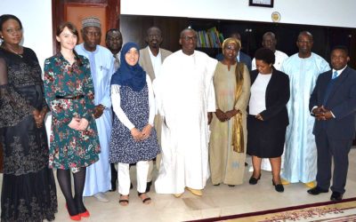 Diálogo de desarrollo de la diáspora africana